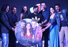 Abhinetri Movie Audio Launch Photos