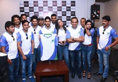 CBL Telugu Thunders Team Jersey Launch Photos