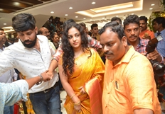 Nithya Menen At Kalamandir 25th Store Opening Photos