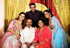 Actress Radha 25th Wedding Anniversary Celebrations photos