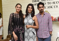 Siddharth & Andrea Jeremiah Inaugurated Wink Salon Photos
