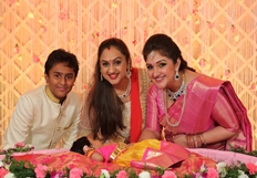Rahul & Sridevi Vijaykumar Daughter Rupikaa Naming Ceremony Photos
