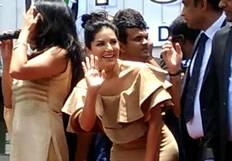 Sunny Leone Visits Kochi