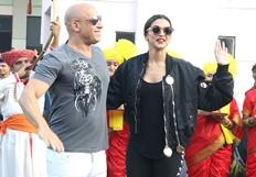 'Desi' welcome for Deepika's 'videsi' co-star Vin Diesel
