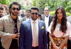 Jagga Jasoos Movie Promotion in Delhi