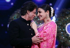 Shahrukh And Anushka On Chala Hawa Yeu Dya - Jab Harry Met Sejal Promotion