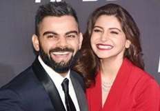 Virat Kohli and Anushka Sharma at Indian Sports Honours 2017 Awards in Mumbai