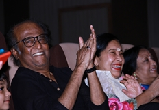 Rajinikanth At YGM Kasethan Kadavulada Stage Show Photos