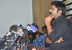 Simbu Press Meet On Jallikattu Issue Photos