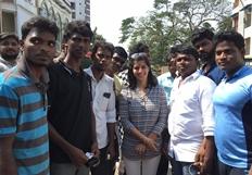 Actress Varalakshmi Sarathkumar Birthday Celebration Stills