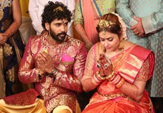 Actress Namitha Marriage Pics