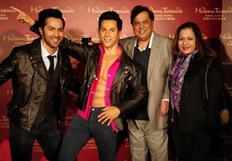 Varun Dhawan makes an entry to Madame Tussauds Hong Kong : Pics
