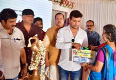 Panchavarna Thatha Malayalam Movie Pooja Photos