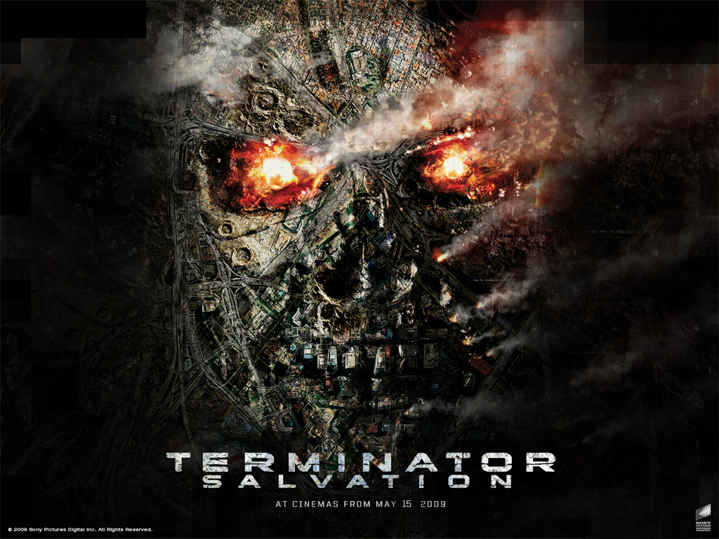 terminator salvation hollywood movie trailer review stills
