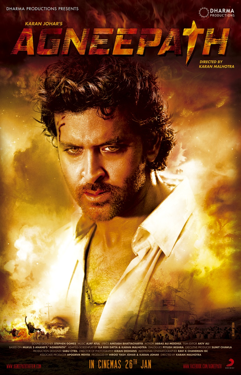 agneepath bollywood movie trailer | review | stills