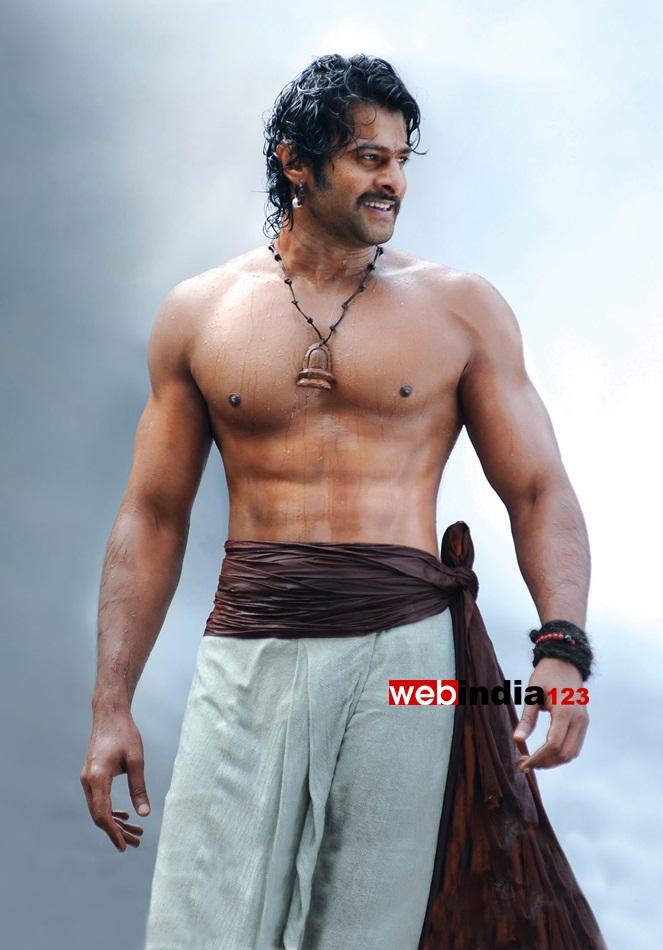Image result for prabhas dhoti shirtless