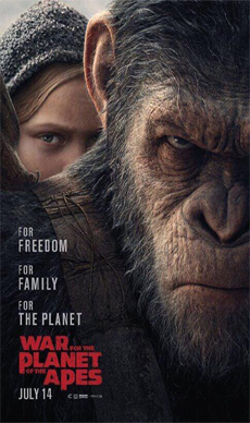 War+for+the+Planet+of+the+Apes+(3D) Movie