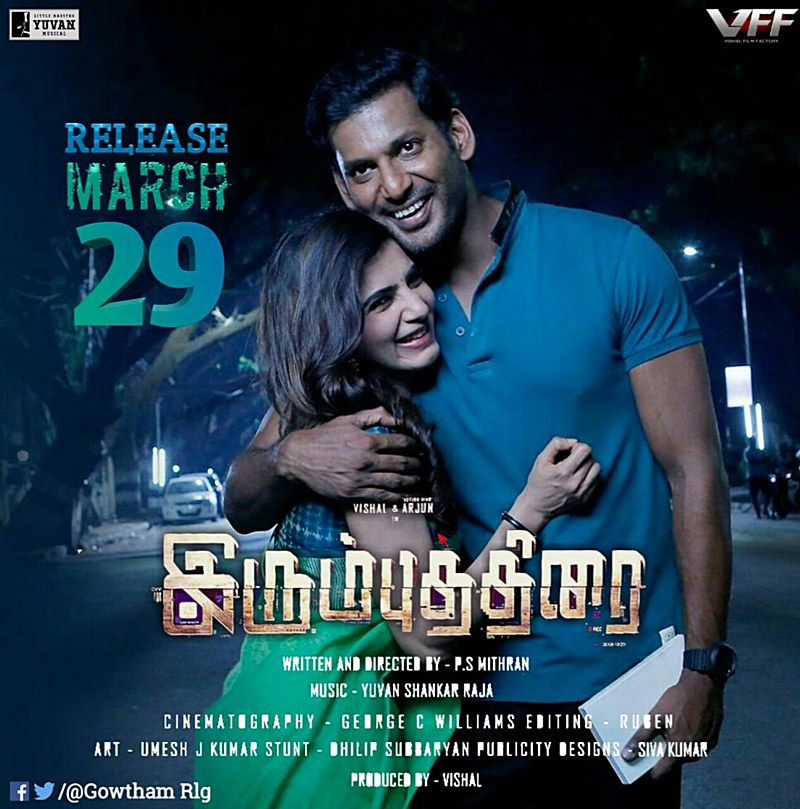 The Return of Abhimanyu 2018 (Irumbu Thirai) Download In Hind Dubbed
