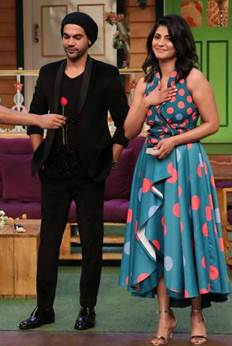 Behen Hogi Teri Team on the sets of The Kapil Sharma Show