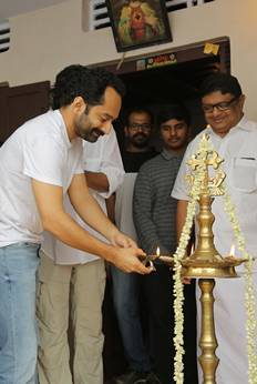 Carbon Malayalam Movie Pooja Photos