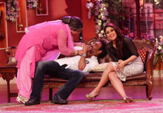 Ajay and Kareena promote their film on Comedy Nights With Kapil