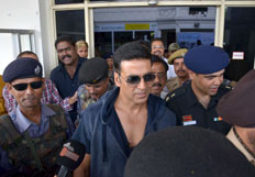 Akshay Kumar promotes his film Holiday