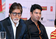 Amitabh Bachchan promotes film Bhoothnath Returns