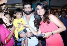 Jay Bhanushali and Surveen Chawla promote Hate Story 2