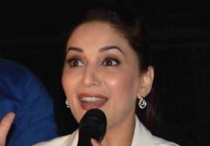 Madhuri Dixit promotes her film Dedh Ishqiya