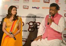 Madhuri Dixit, Anubhava Sinha promotes Gulaab Gang