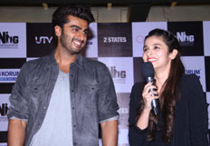 Promotion of movie 2 States