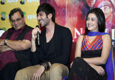 Promotion of movie Kaanchi