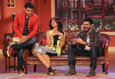 Promotion of film Dishkiyaoon on the sets of Comedy Nights with Kapil