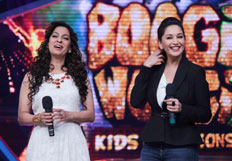 Promotion of film Gulaab Gang on the sets of Boogie Woogie Kids Championship