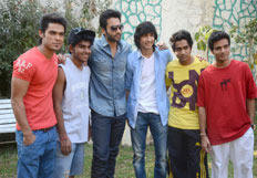 Promotion of film Youngistan on the set of Dil Dosti Dance