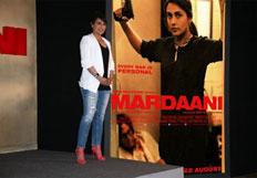 Rani Mukerji at the Mardaani trailer launch press conference