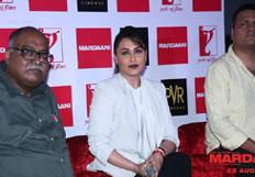 Rani Mukarji Promotes Movie Mardaani