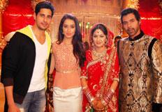 Sidharth Malhotra and Shraddha Kapoor on Kumkum Bhagya