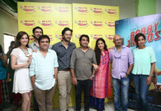 The Cast and Crew Of Bobby Jasoos promote their film at Radio Mirchi