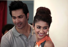 Varun and Ileana promote Main Tera Hero