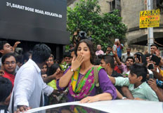 Vidya Balan at various events in kolkata for Bobby Jasoos promotions