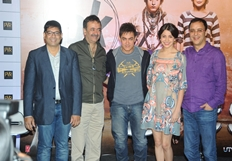 Aamir khan and Anushka Sharma At  PK Movie Press Meet