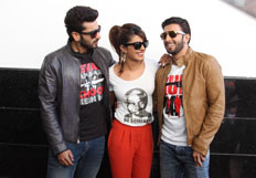 Gunday cast on college trail