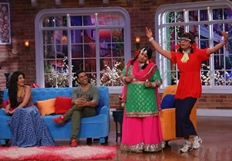 Akshay Kumar And Shruthi Hassan At Comedy Night With Kapil Show