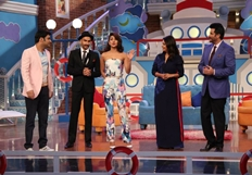 Dil  Dhadakne Do Team at Comedy Nights With Kapil Show