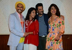 Dil Dhadaknedo Team At Funky Photoshoot