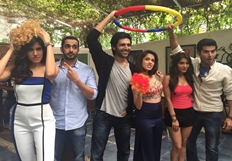Pyaar Ka Punchnama Promotions At Little Door