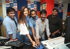 Loafer Movie Team at Radio City Photos