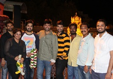 RGG success tour in vijayawada theater & templevisit Stills