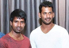 Vishal & Soori @ Singapore For Paayum Puli